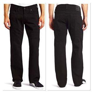 NWT True Religion Bobby Superfly Black Jeans 38